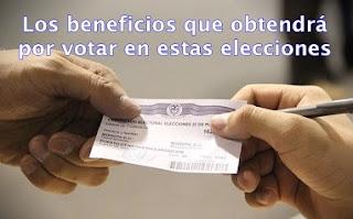 ¿Cuales son los beneficios por votar en Colombia?