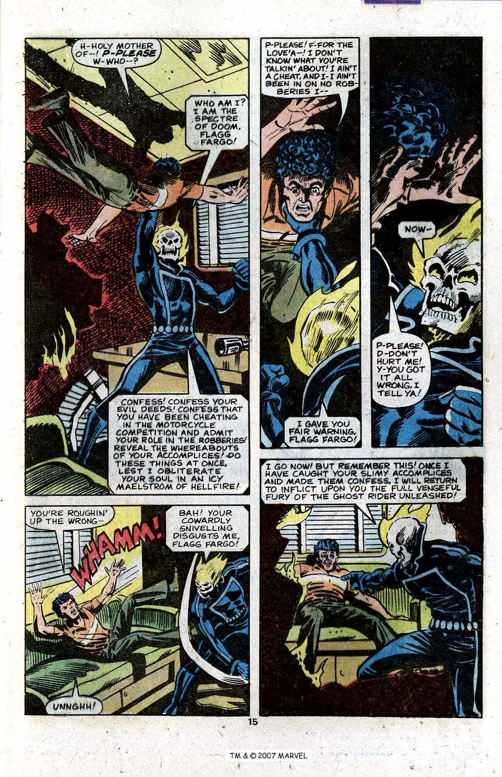 Ghost Rider (1973) Issue #46 #46 - English 17