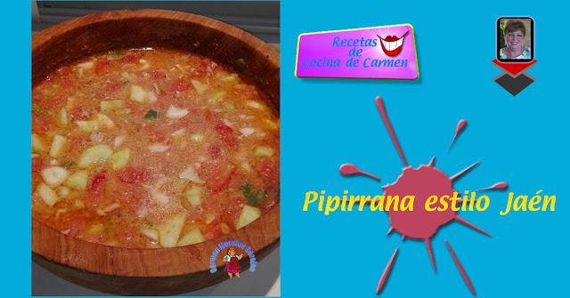 Pipirrana estilo Jaén