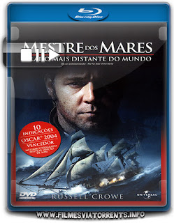 Mestre dos Mares - O Lado Mais Distante do Mundo Torrent - BluRay Rip 1080p Dublado 5.1