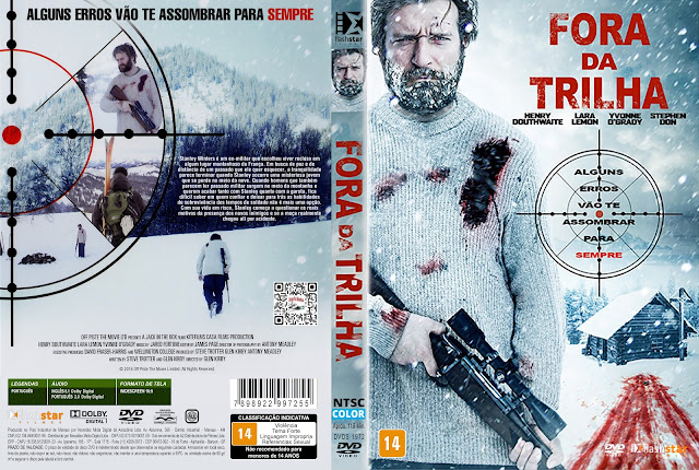 Capa DVD Fora da Trilha [Exclusiva]