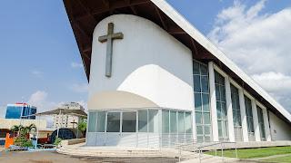 The church is a modern church