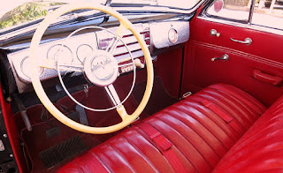 1941 Buick Super 51C Convertible Cabin Interior