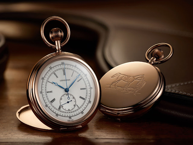 The Longines Equestrian Pocket Watch Jockey 1878 Mechanical Hand-wound Watch