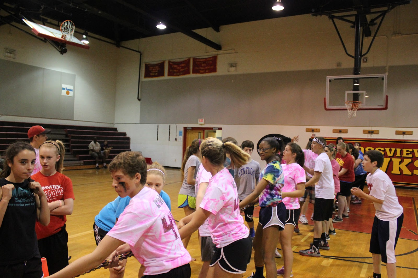 Rossview Middle School Post 8th Grade Field Day Pics