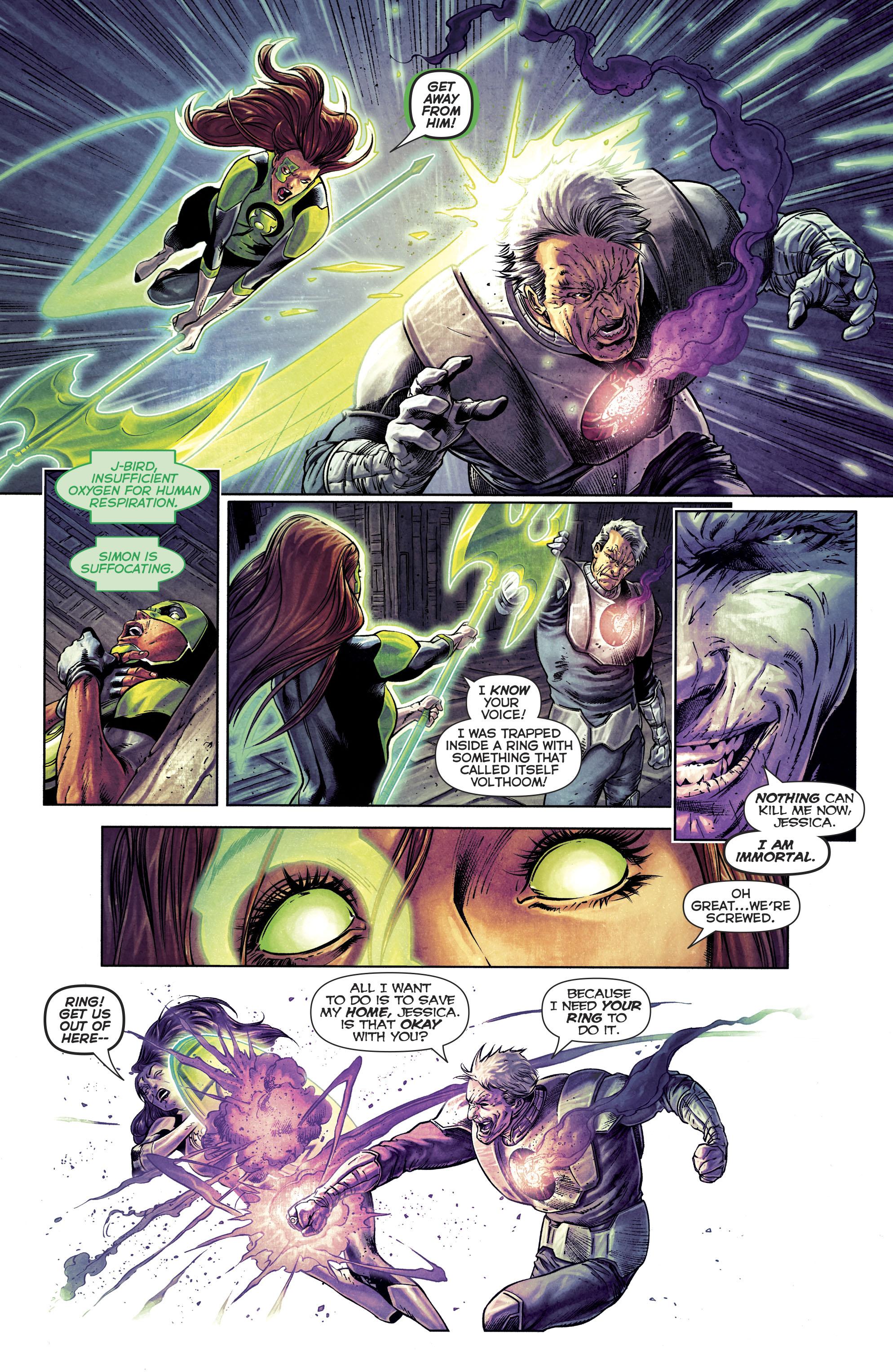 Read online Green Lanterns comic -  Issue #25 - 26