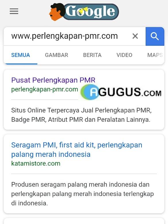 Rekomendasi agugus.com tempat beli Peralatan Perlengkapan PMR