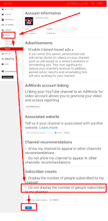 Cara Mudah menyembunyikan Jumlah Subscriber Youtube Kita Melalui Android