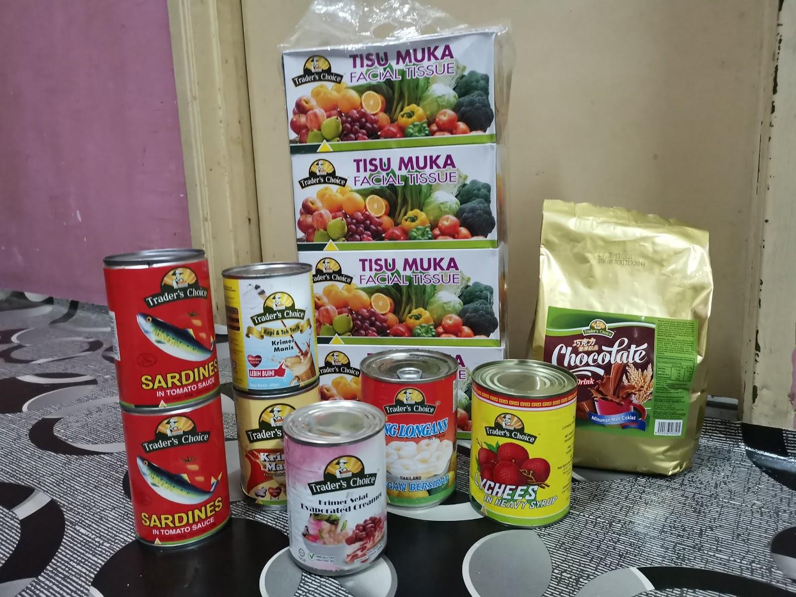 Segi Fresh Tawar Barangan Dapur Harga