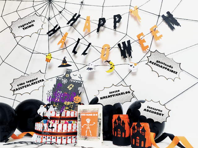 kit fai da te per party di Halloween last minute