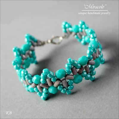 undulation bracelet, bransoletka z rulla