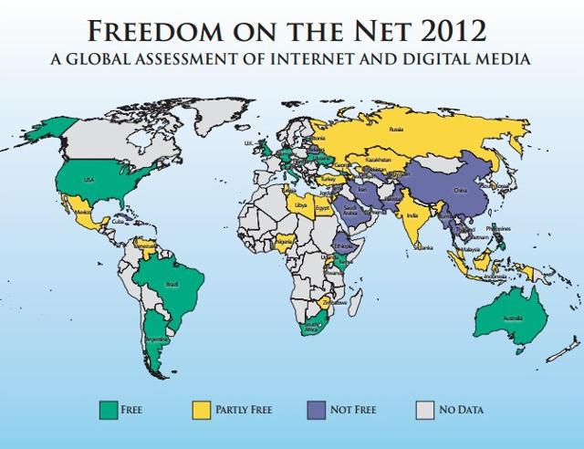 L'Estonie en haut de classement de liberté sur Internet | Le VPN