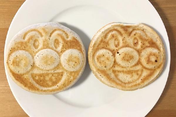 アンパンマンホットケーキ
