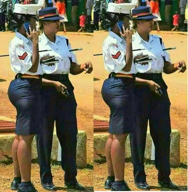 Guys, you need to meet this trending Kenyan policewoman with massive assets