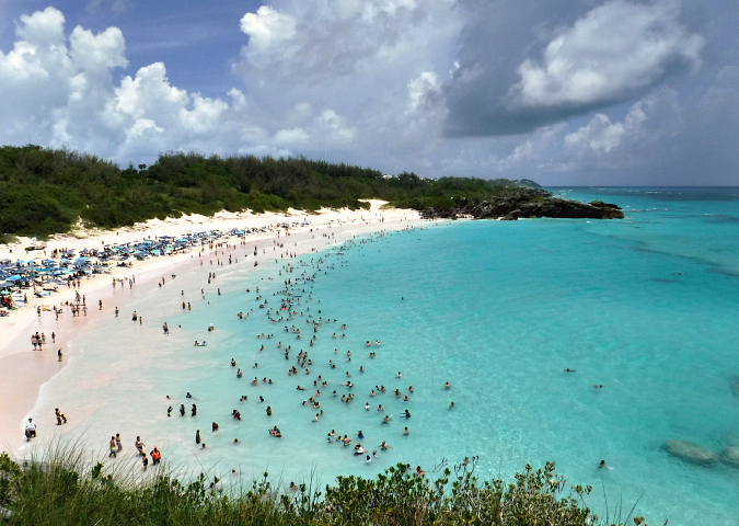 Celebrity Summit Cruise To Bermuda Horseshoe Bay Beach
