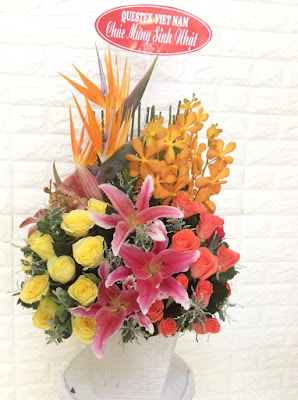 shop hoa tươi cẩm xuyên