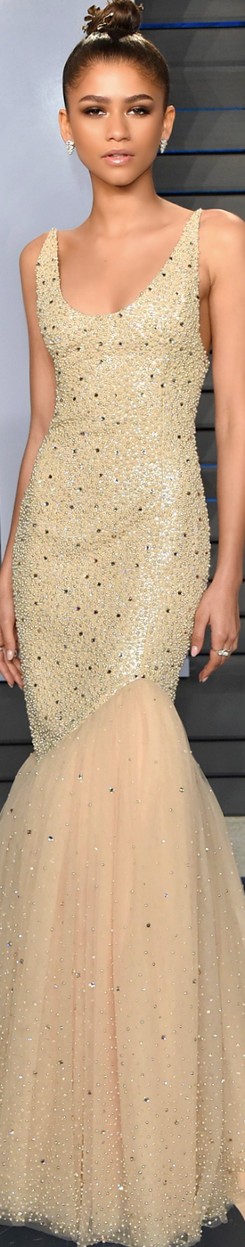 Zendaya 2018 Vanity Fair Oscar Party