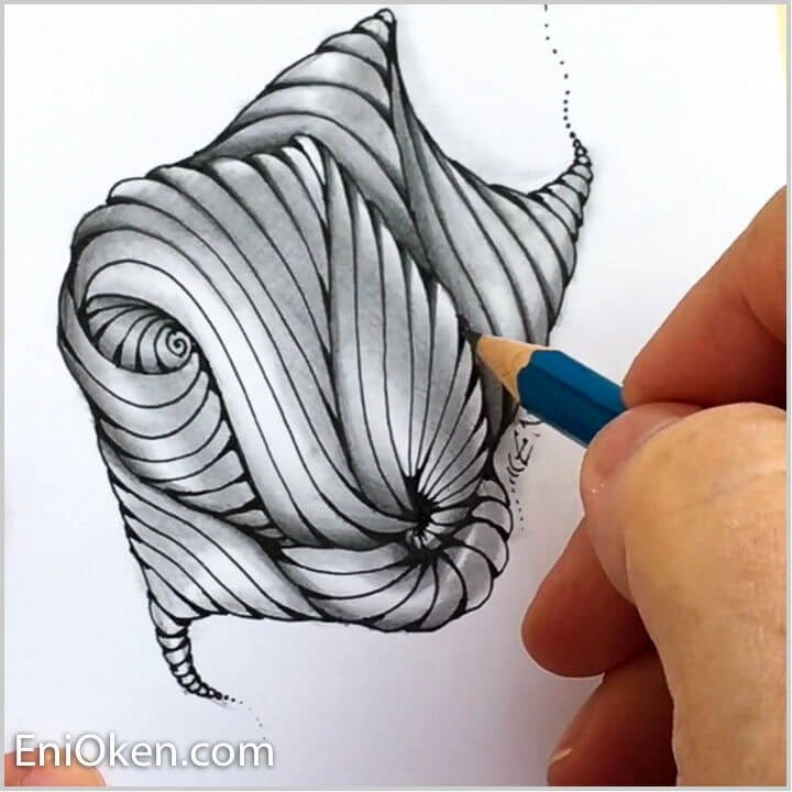 07-Echo-Lines-Eni-Oken-Ink-and-Pencil-Fantasy-and-Zentangle-Drawings-www-designstack-co