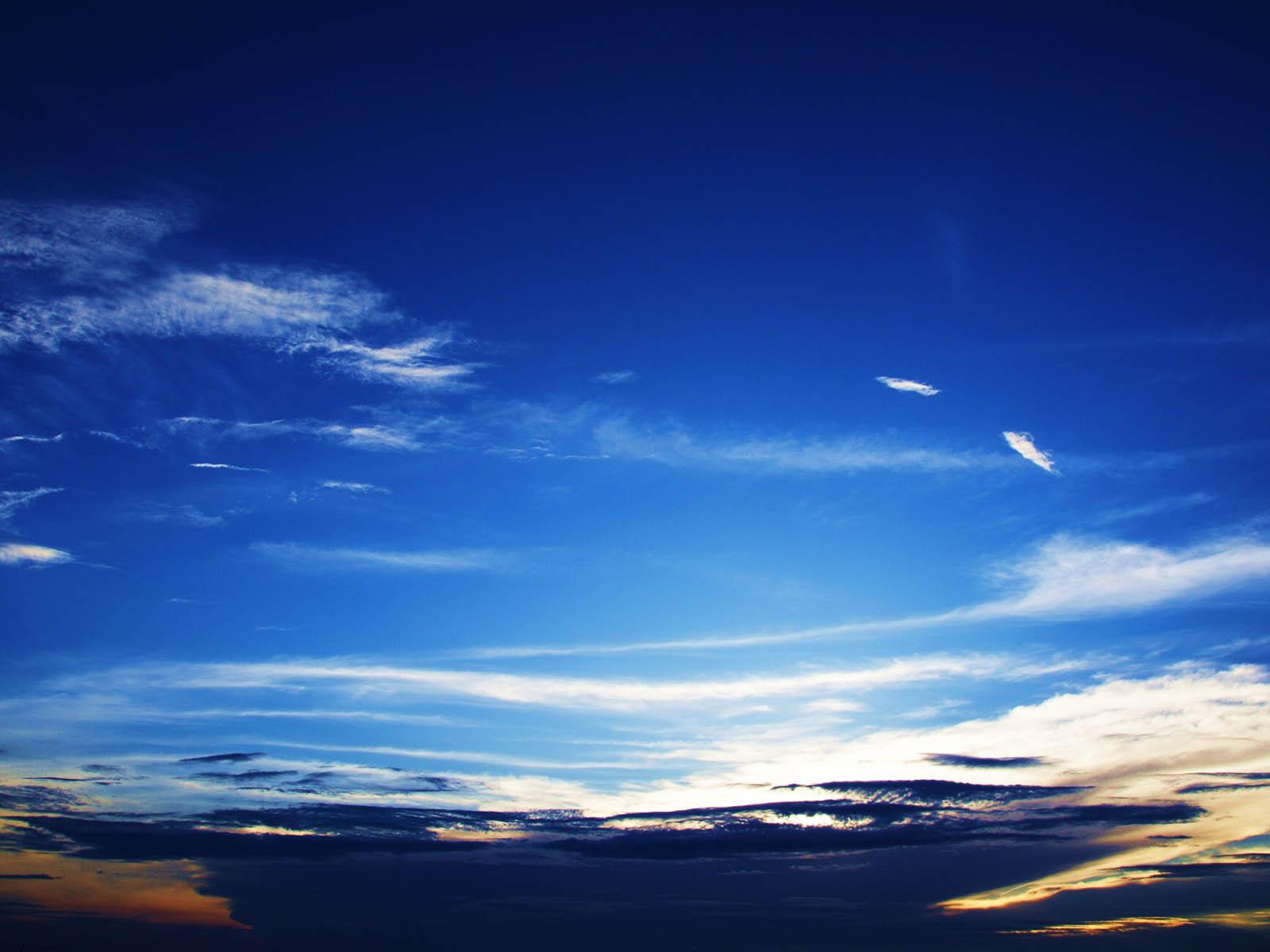Love Wallpaper FotoFoto Langit yang Indah di Siang Hari