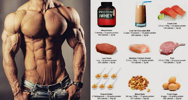 High protein muscle building foods you must start eating for Does fish have protein