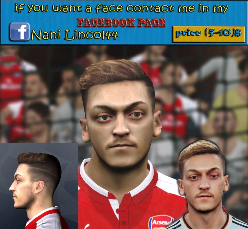 Ultigamerz Pes 2010 Pes 2011 Face: Ultigamerz: PES 2018 Mesut Özil (Arsenal) Face For PES 2017