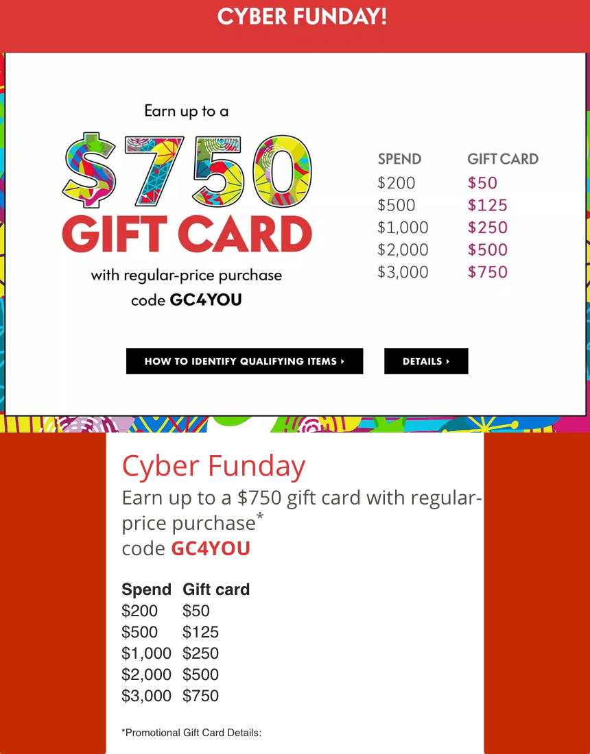 NEIMAN MARCUS CYBER FUNDAY DEALS AND DETAILS