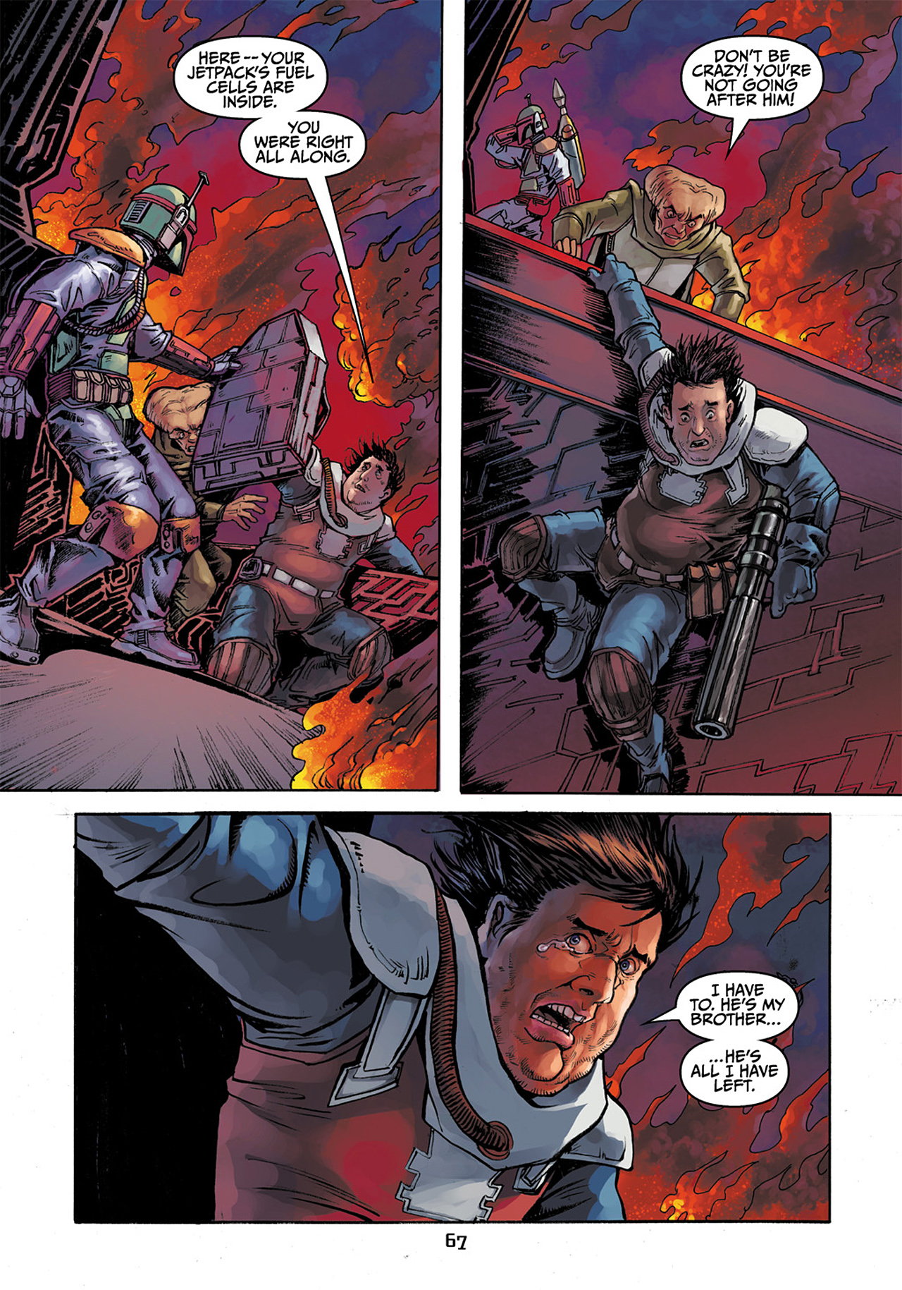 Read online Star Wars Adventures comic -  Issue # Issue Boba Fett and the Ship of Fear - 68