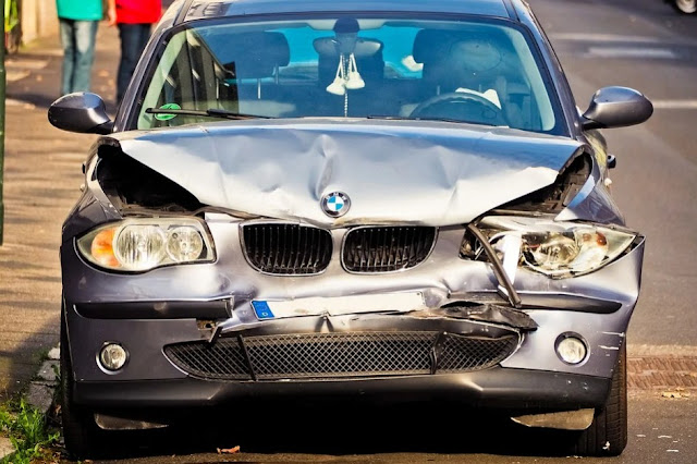 damage to the car due to a collision