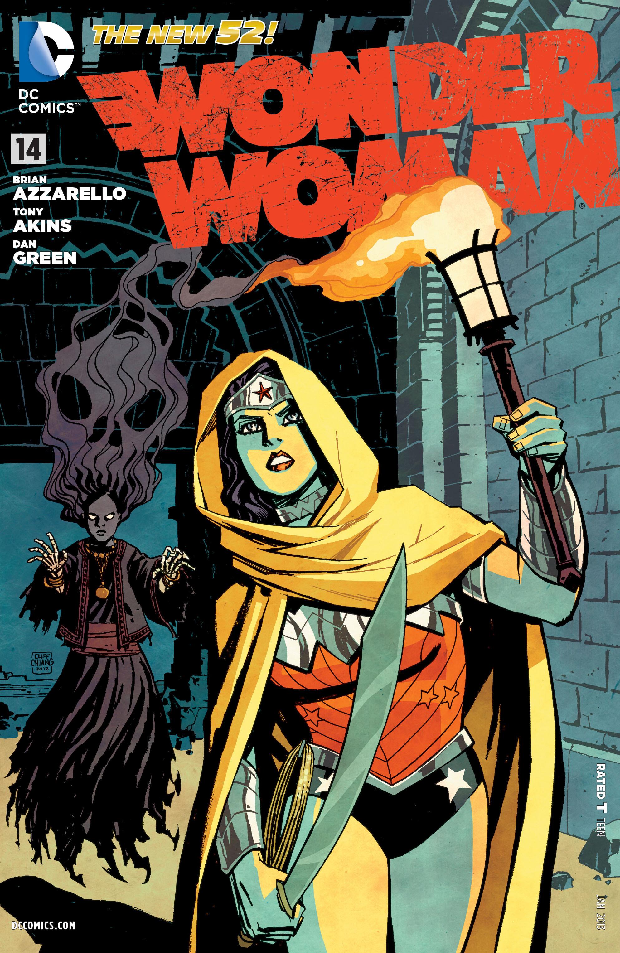Read online Wonder Woman (2011) comic -  Issue #14 - 1