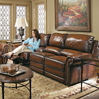 bernhardt-leather-sectional-sofa