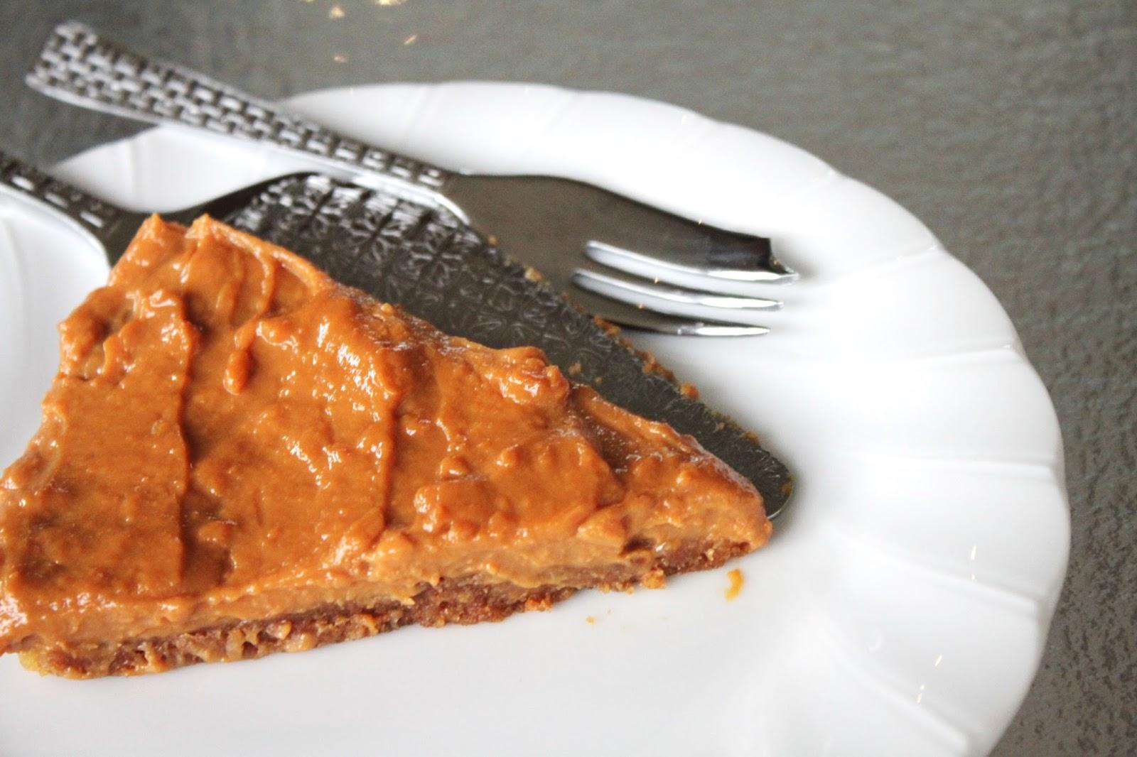 Caramel Tart Slice