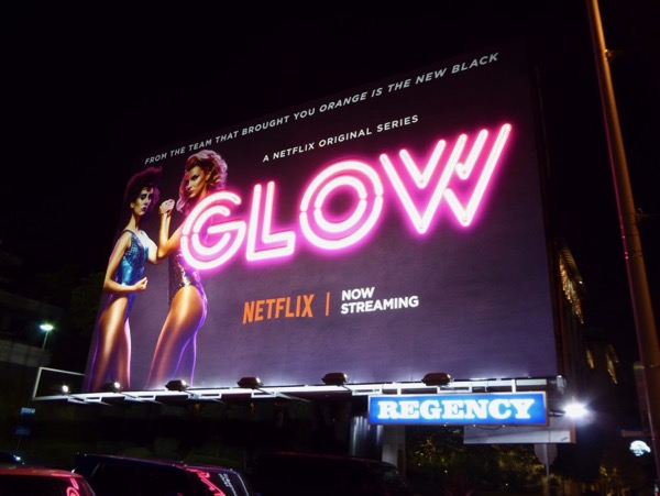 GLOW series launch neon sign billboard