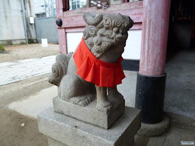 堀川戎神社榎木神社狛犬