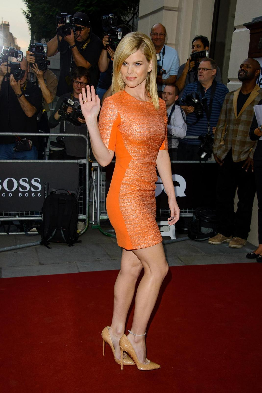 Alice Eve Attends Gq Men Of The Year Awards In London