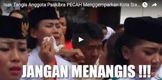 (VIDEO) Bendera Tak Kunjung Naik, Isak Tangis Anggota Paskibra PECAH Menggemparkan Kota Siantar