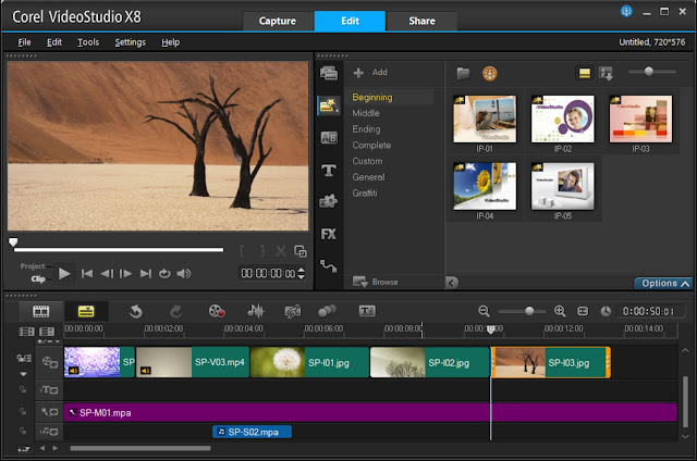 Corel VideoStudio Ultimate X8 With Keygen