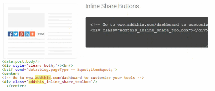 Flat Social Share Button for Blogger-How to Add Flat Slide Out Social Sharing Buttons Inside Blogger