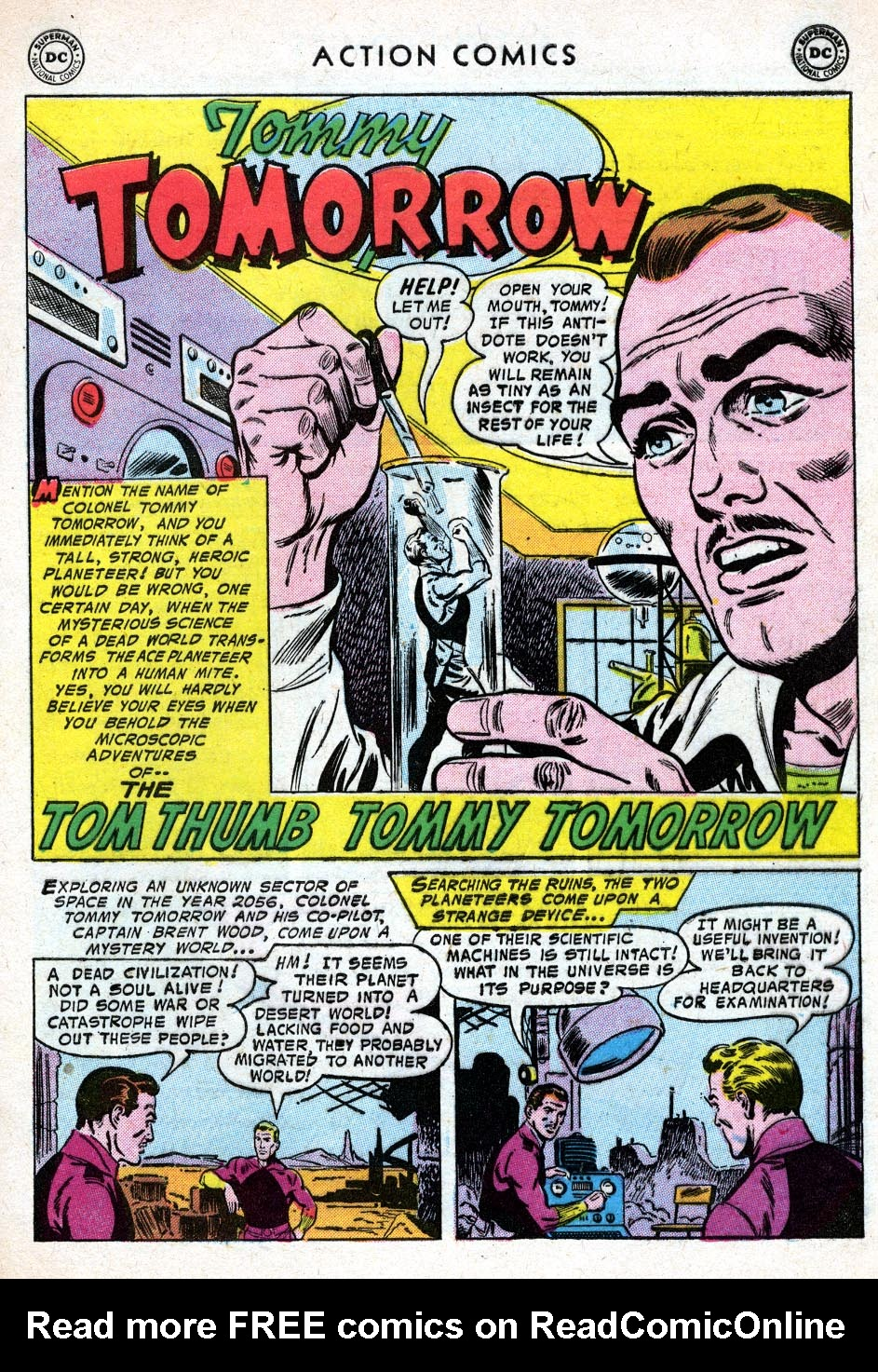 Read online Action Comics (1938) comic -  Issue #219 - 27