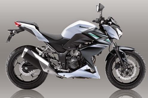 Motor Kawasaki Z250 White