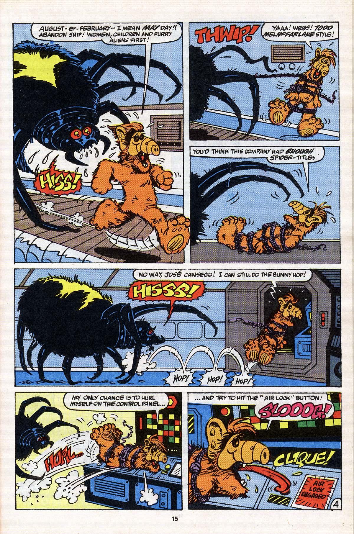 Read online ALF comic -  Issue # _Annual 3 - 14