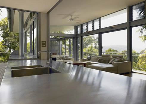 Contemporary Glass House In Sydney, Australia on Modern Glass House Design  id=12771
