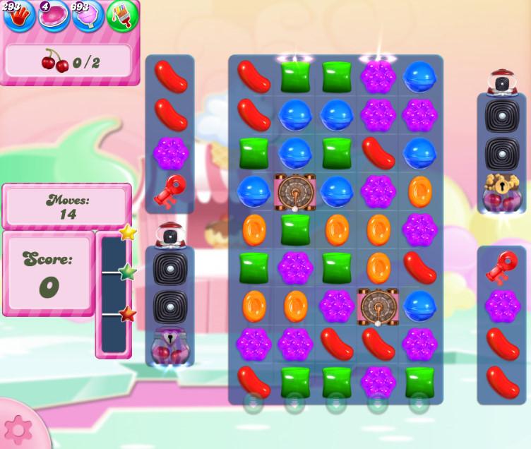 Candy Crush Saga level 2804