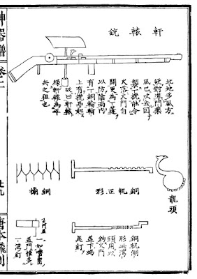 Ming Dynasty Weatherproofed Matchlock Gun