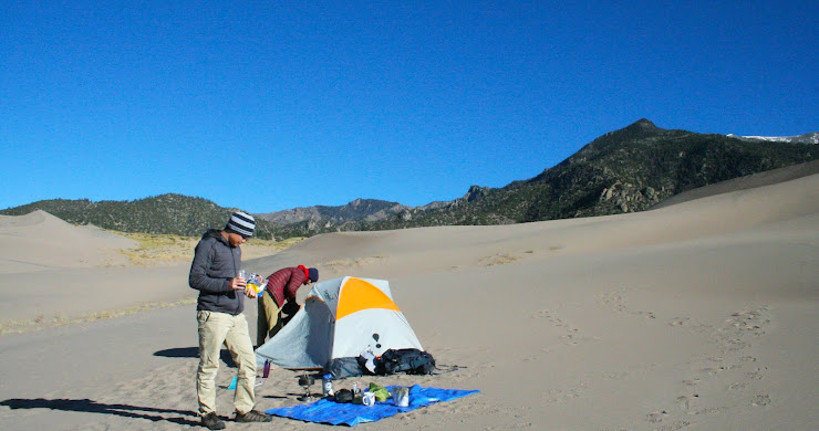 Backpacking Great Sand Dunes National Park: Wandering directionless into the wilderness