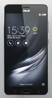 Asus zenfone AR smartphone RAM 8 GB