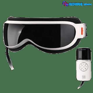 Alat Terapi Pijat Mata (Kacamata Pijat)