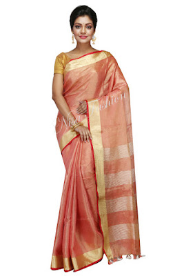 Linen saree in bhagalpur