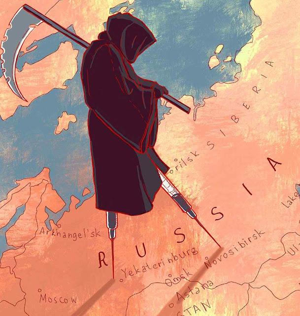 A imoralidade e a droga tornaram o HIV uma epidemia na Rússia