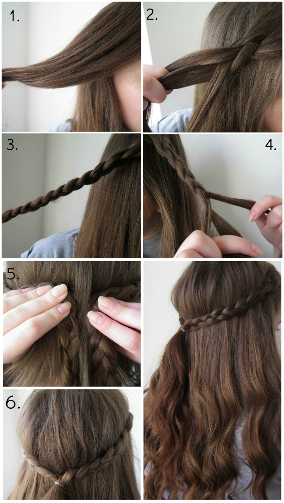 Quick & Easy Braid Hairstyle Step by Step