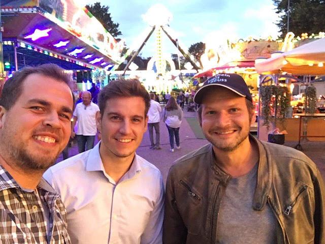 Making friends in Neuss, NRW